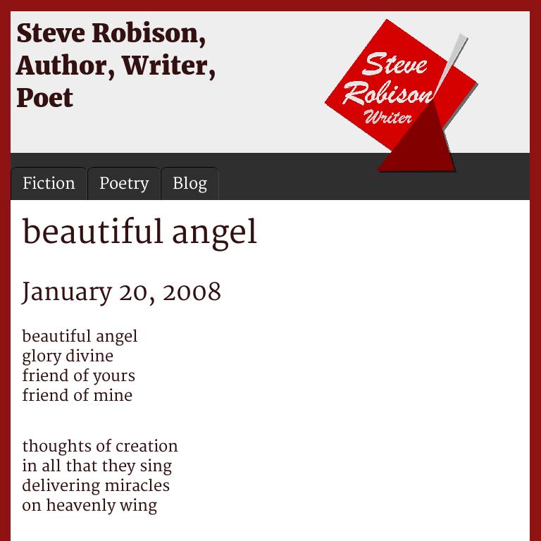 Beautiful Angel Steve Robison
