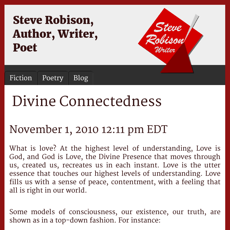 Divine Connectedness | Steve Robison